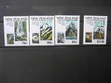 NEW ZEALAND 1987 NATIONAL PARKS CENTENARY SET NHM SG 1428/31