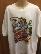 Dale Earnhardt Size XL Looney Tunes Classic Collection Mens White T-Shirt A001JL