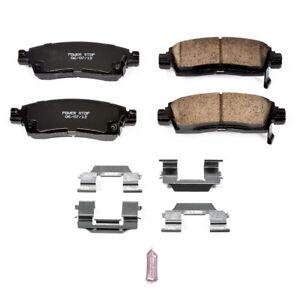 Disc Brake Pad Set-Z17 Evolution Plus Disc Brake Pad Rear Power Stop 17-883
