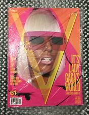 Lady Gaga - V Magazine - Pink Glasses - Fall 2009 - Brand New & Unread