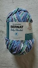 Bernat Baby Blanket Yarn 10.5oz Skein Color Posy Purple