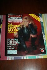 SCREAM QUEENS ILLUSTRATED POSTERBOOK - NO. 8 IN NEAR MINT CONDITION!! RARE!!