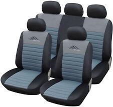 Schwarz-rot Effekt 3D Sitzbezüge für FORD FOCUS Autositzbezug VORNE