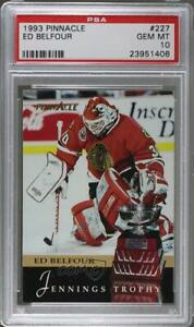 1993-94 Pinnacle Ed Belfour #227 PSA 10 HOF