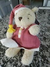 "Walt Disney World 13"" Lullaby Winnie The Pooh Bear Plush Stuffed Animal NWT"