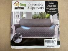 Easy-Going Sofa Slipcover Reversible Sofa Cover Water Resistant Gray 66""
