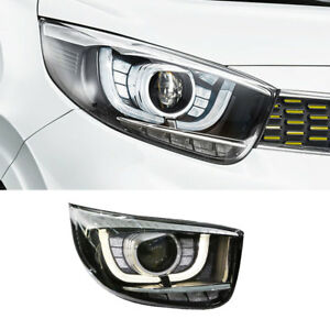 OEM Front LED Projection Head Light Lamp RH for KIA 2017-2019 Picanto / Morning