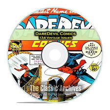 DareDevil Comics, 134 Back Issues, Full Color, PDF, Golden Age Comics DVD D29