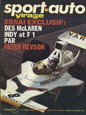 SPORT AUTO n°147 04/1974 avec encart Course des champions GS BIROTOR LANCIA BETA