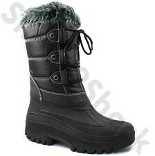 Zip Synthetic Snow, Winter Boots for Women