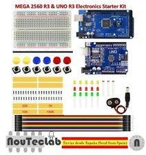 Starter Kit MEGA 2560 UNO R3 MINI Breadboard LED Jumper Wire Button for Arduino