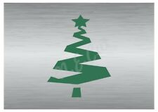 Christmas Tree stencil A5 A4 A3 A2 A1 A0 14cm to 1.2 meters or bigger CMAS028