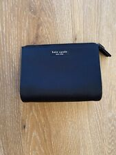 Kate Spade Medium Cosmetic Bag Black Nylon