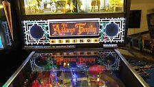The Addams Family TAF - Lighted Pinball LED Speaker Panel - BASIC