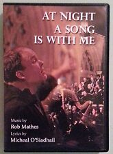 rob mathes AT NIGHT A SONG IS WITH ME    DVD  2 disc set includes insert