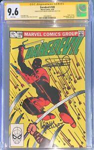 Daredevil #189 CGC 9.6 SS Signed Frank Miller (Death of Stick)