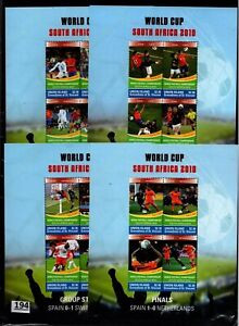 /// UNION ISLAND 2010 - MNH - SOCCER - SPAIN - NETHERLANDS