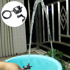 240L/H DC 12V 2 Phase CPU Cooling Car Brushless Water Pump Waterproof UL