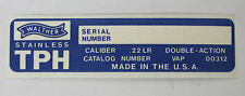 Original Factory Interarms Walther Model TPH .22 Box Label