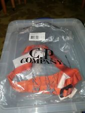C.P. COMPANY NYLON SATIN SPICY ORANGE STASH BELT MEDIUM RRP £95