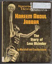 Kareem Abdul Jabbar The Story of Lew Alcindor 1972 Hardcover Book UCLA Milwaukee