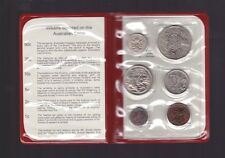 1970 Coin Set UNC Uncirculated in Red Wallet I-856