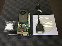 HP NVIDIA Quadro 600 High Profile Graphics Video Card 1GB DDR3 671135-001