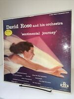 David Rose And His Orchestra Sentimental Journey LP