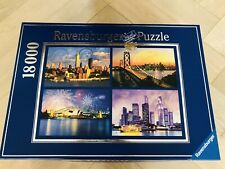 Ravensburger 18000 Piece Skylines of the World Puzzle Poster Inserts: Never Used