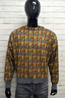 Cardigan Uomo BENETTON Taglia Size 56 Maglia Felpa Pullover Sweater Man Mohair