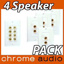 4 Speaker Wall Plate 5.1 VALUE PACK