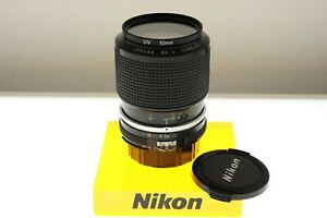 Nikon Zoom-Nikkor 43-86mm f/3.5 Ai zoom lens. EXC+ condition. +filter