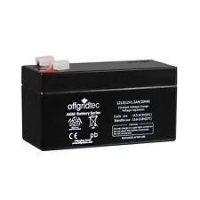Offgridtec ® AGM 1,2ah 20hr 12v-batería solar Batería extremadamente ciclos fijo