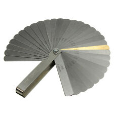 Hot Laser 2481 Feeler Gauge Gap Thickness Set 32 Blade IMP/METRIC +BRASS