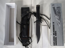 Vintage Explorer Wilderness II Survival Knife #21-048 - Guimann Cutlery NEW NIB