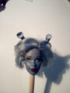 "Saaraa -ANDORIAN FEMALE Mego 8"" 1/9 scale Custom Head - STAR TREK"