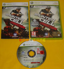 TOM CLANCY'S SPLINTER CELL CONVICTION  XBOX 360 Versione Italiana »»»»» COMPLETO