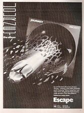 JOURNEY Escape 1982 Kerrang UK magazine ADVERT/Poster/clipping 11x8 inches
