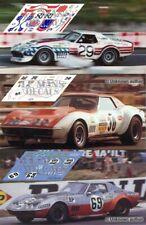 Decals Corvette C3 Le Mans 1973 1:32 1:24 1:43 1:18 slot Chevrolet calcas