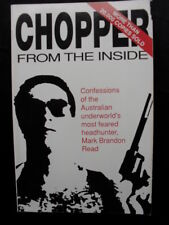 CHOPPER 1: From the Inside: Mark Brandon Read: Standover Man: True Crime. PB91.
