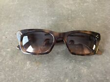 Oliver Goldsmith London Vice Consul (?) Electric Tortoise Shell Sunglass Frames