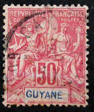 Timbre GUYANE FRANCAISE / FRENCH GUYANA Stamp - Yvert Tellier n°40 Obl (Col4)