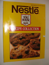 1987 Nestle Chocolate Toll House Cookie Cakes Pies + Recipe Collection Cookbook