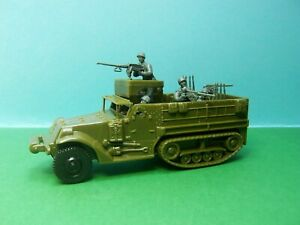 Airfix compatible 1/32 scale American Halftrack (green)