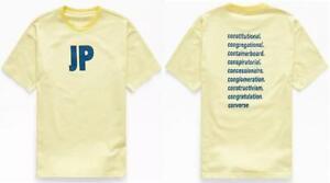 Converse x A$AP Nast ASAP Mob Crew Tee Tshirt T-Shirt Jack Purcell JP Yellow