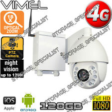 Home Security Camera 4G Outdoor Farm House PTZ 18XOptical Zoom GSM Live View 3G