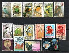 Trinidad & Tobago  1990 Birds to $5 used