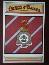 POSTCARD BADGE FOR DUKE OF WELLINGTOM REGIMENT (WEST RIDING)