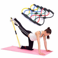 Elastic Stovepipe Resistance Bands Tube Exercise Band For Yoga Fitness Equipment