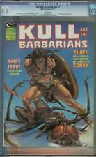 KULL AND THE BARBARIANS #1 CGC 9.8 WHITE PAGES